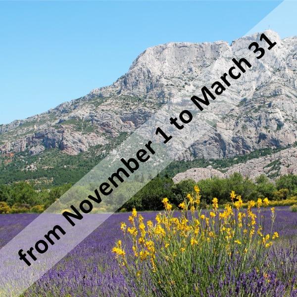 Provence Wine Tours - Wine Tour Sainte-Victoire Out of Season