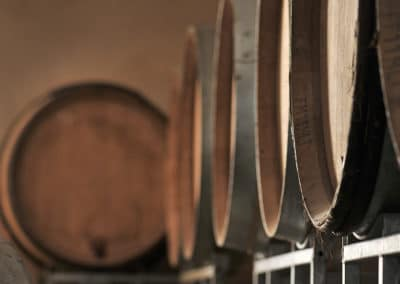 Provence Wine Tours - Vats in a cellar