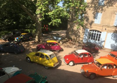 2CV event at a vineyard