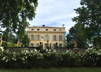 Provence Wine Tours - Château Beaupré's facade, Coteaux d'Aix-en-Provence