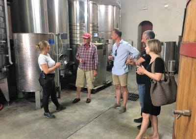Provence Wine Tours - Visit of the cellar of a wine estate of Lubéron