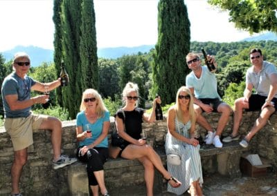 Family private wine tour